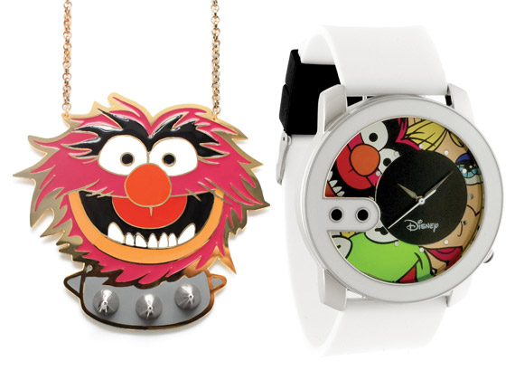 The Muppets x nOir Jewelry & FLüD Watches