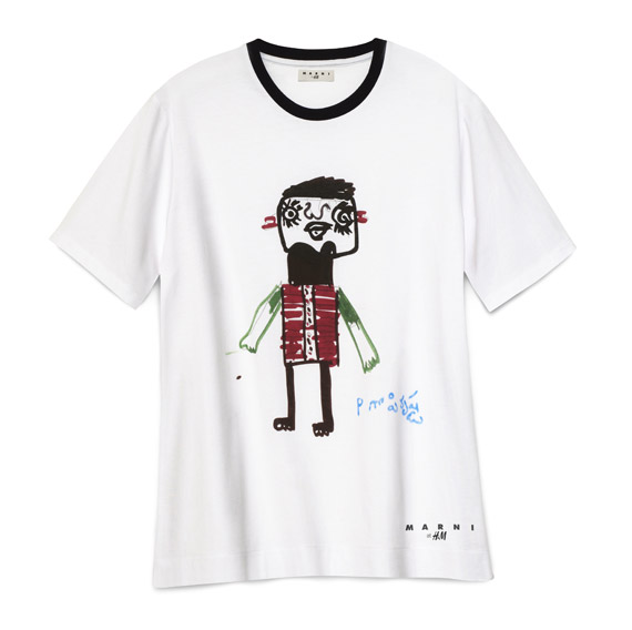 Marni at H&M T shirt for Japan Red Cross Society