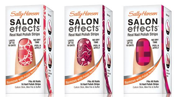 Sally Hansen Salon Effects Valentines Day 2012