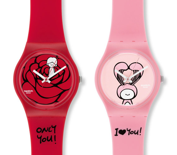 Swatch Original Gent Valentines Day Watches