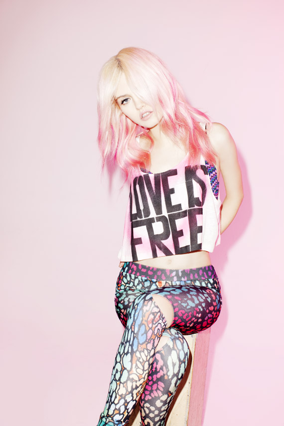 Charlotte Free for Forever 21 Spring 2012 Ad Campaign | Part 2