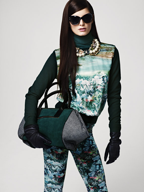 H&M Women's Fall 2012 Lookbook