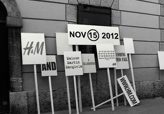 Maison Martin Margiela for H&M   November 15th!