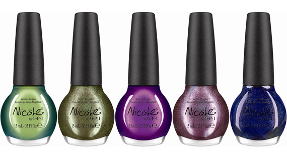 OPI Germany Collection + Nicole by OPI Target Exclusives Fall 2012