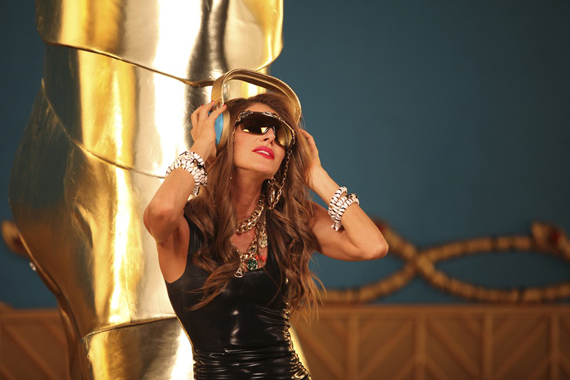 Anna Dello Russo at H&M Accessories Collection Preview