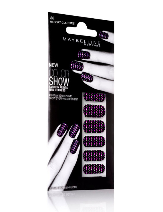 Maybelline Color Show Fashion Prints Nail Stickers & Sequins