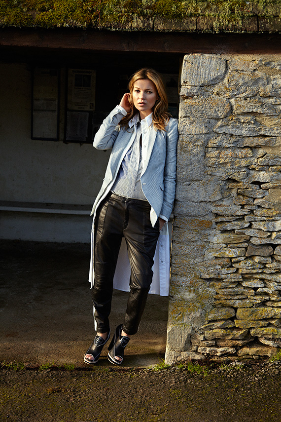 Kate Moss for rag & bone Spring/Summer 2013 Ad Campaign