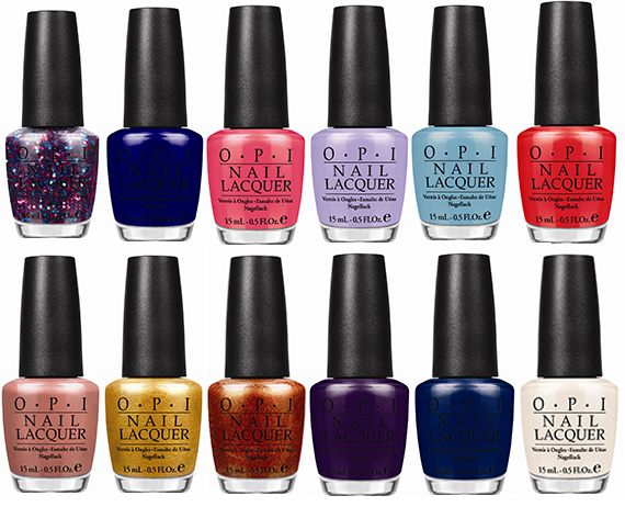Euro Centrale by OPI for Spring/Summer 2013