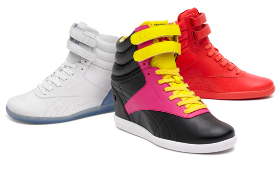 Reebok Classic x Alicia Keys Freestyle Hi Wedge