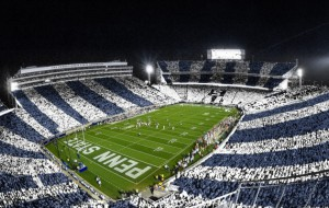 Striped Out Beaver Stadium