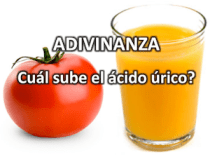 ácido úrico elevado