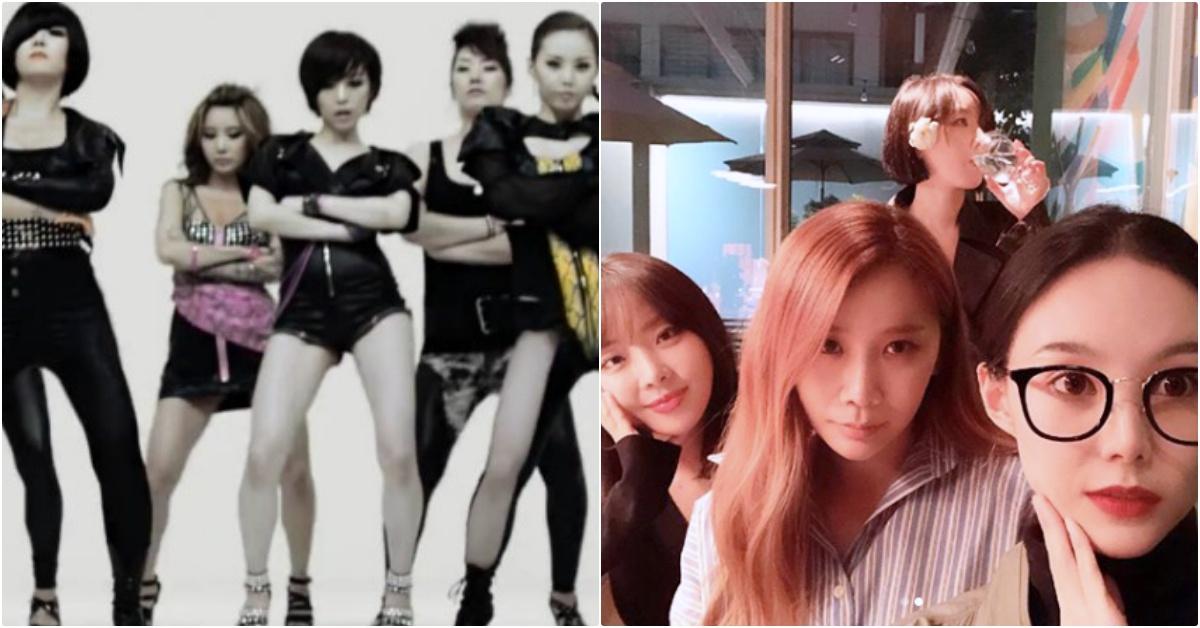 13年最長壽女團Brown Eyed Girls完整體回歸,元祖成人系偶像回來啦   Brown Eyed Girls,BEG,Brown Eyed Girls回歸,韓女團 ...
