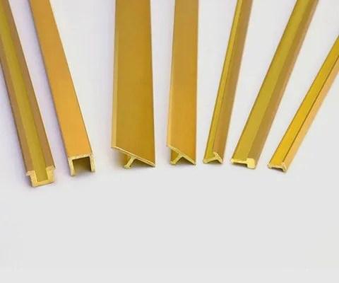 brass tile trim niuyuan trims