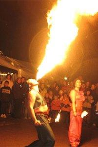 Niveau-Dj Feuershow