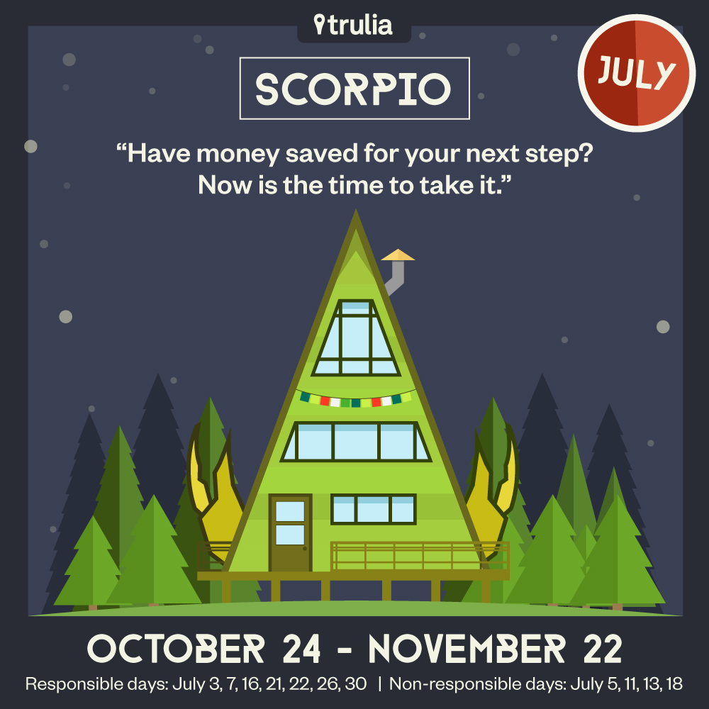 Scorpio Horoscope Trulia