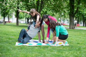 Twister Game Outdoors