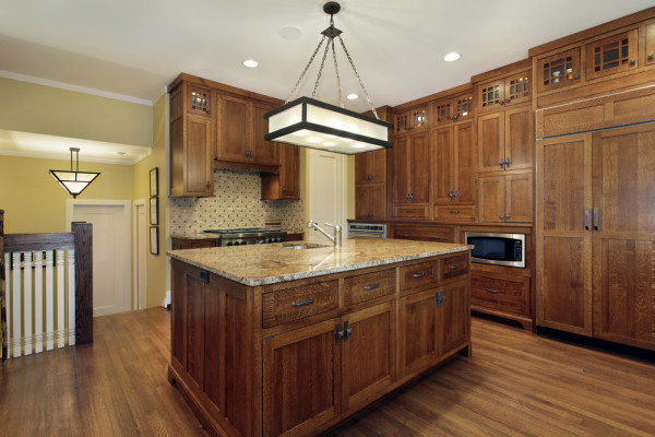 Wide Kitchen Light Fixture