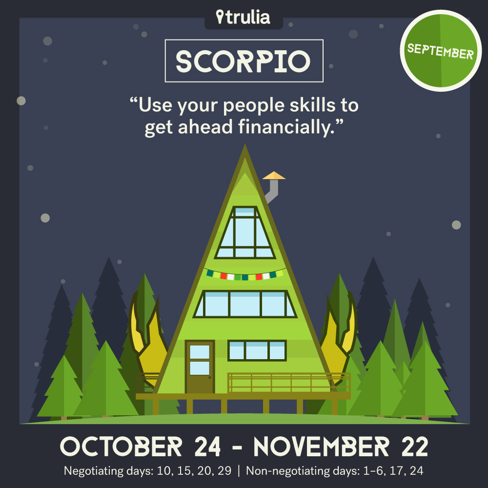 September Horoscope Scorpio