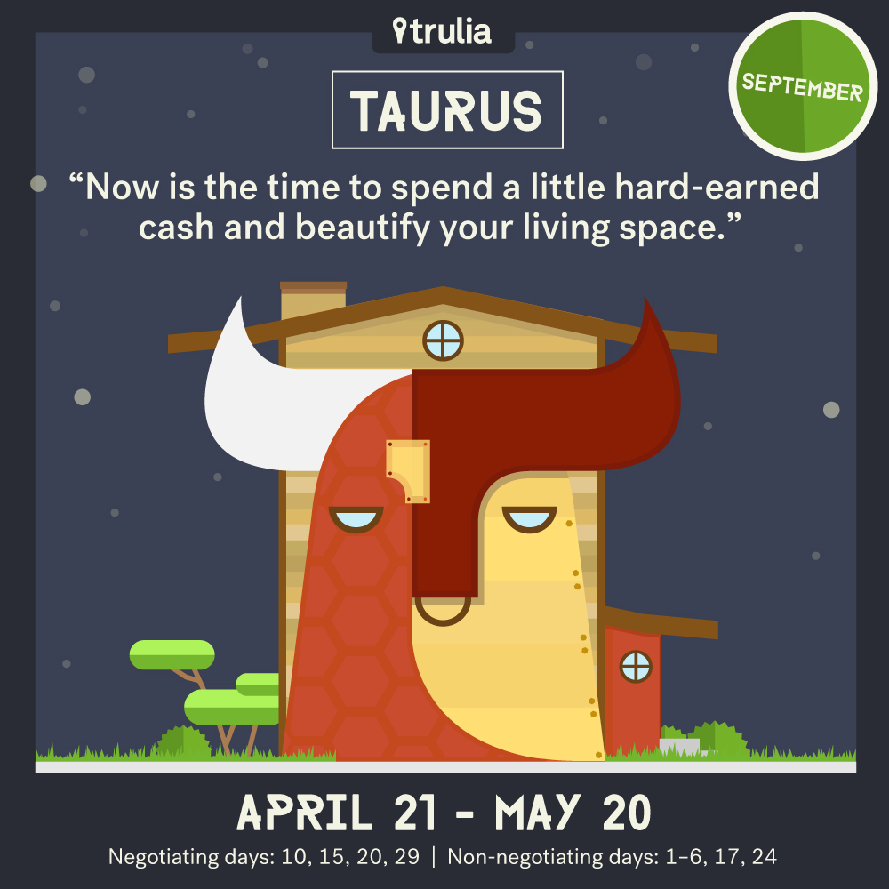 September Horoscope Taurus