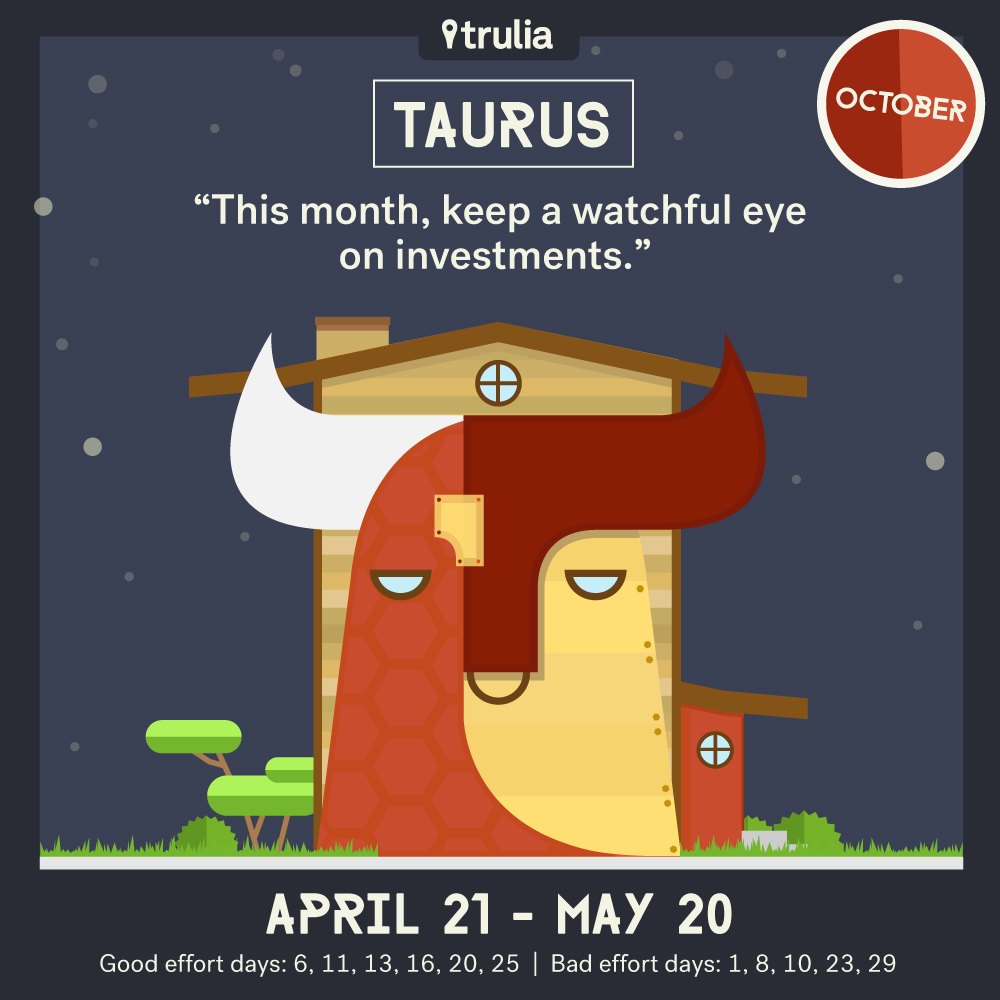 October Horoscope Taurus