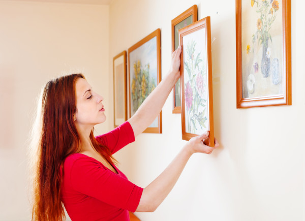 Hanging Art With Same Frame