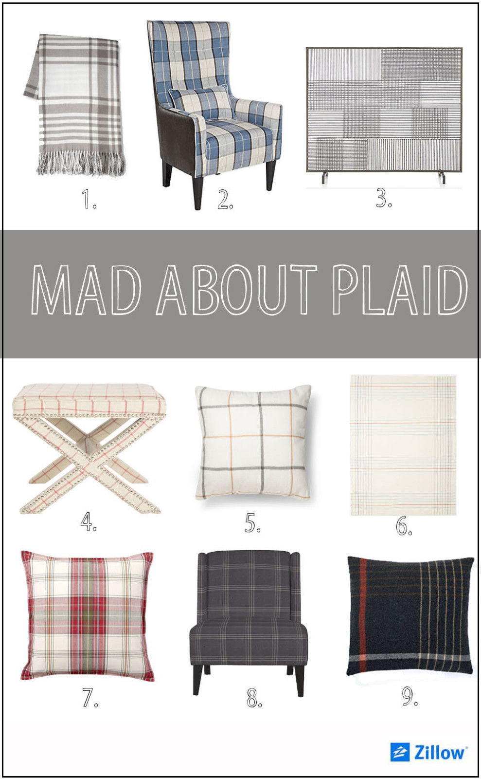 mad about plaid branded