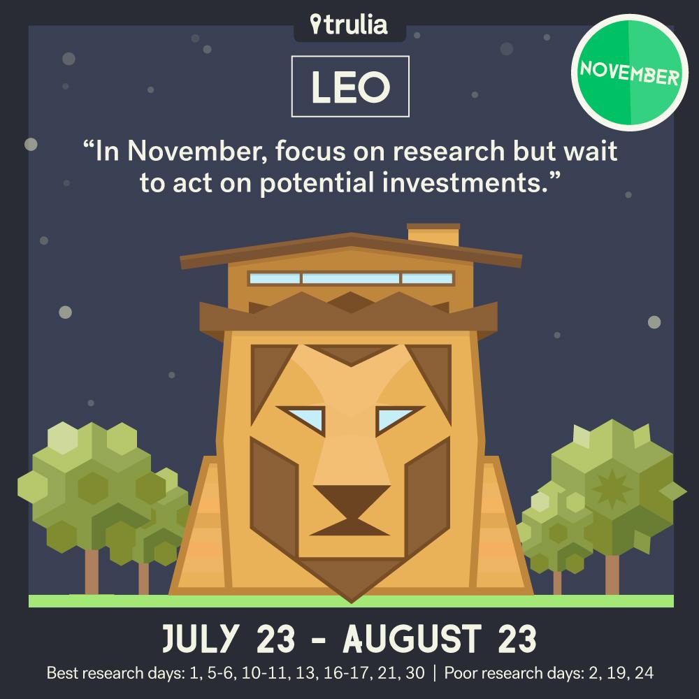 November Money Horoscope Leo