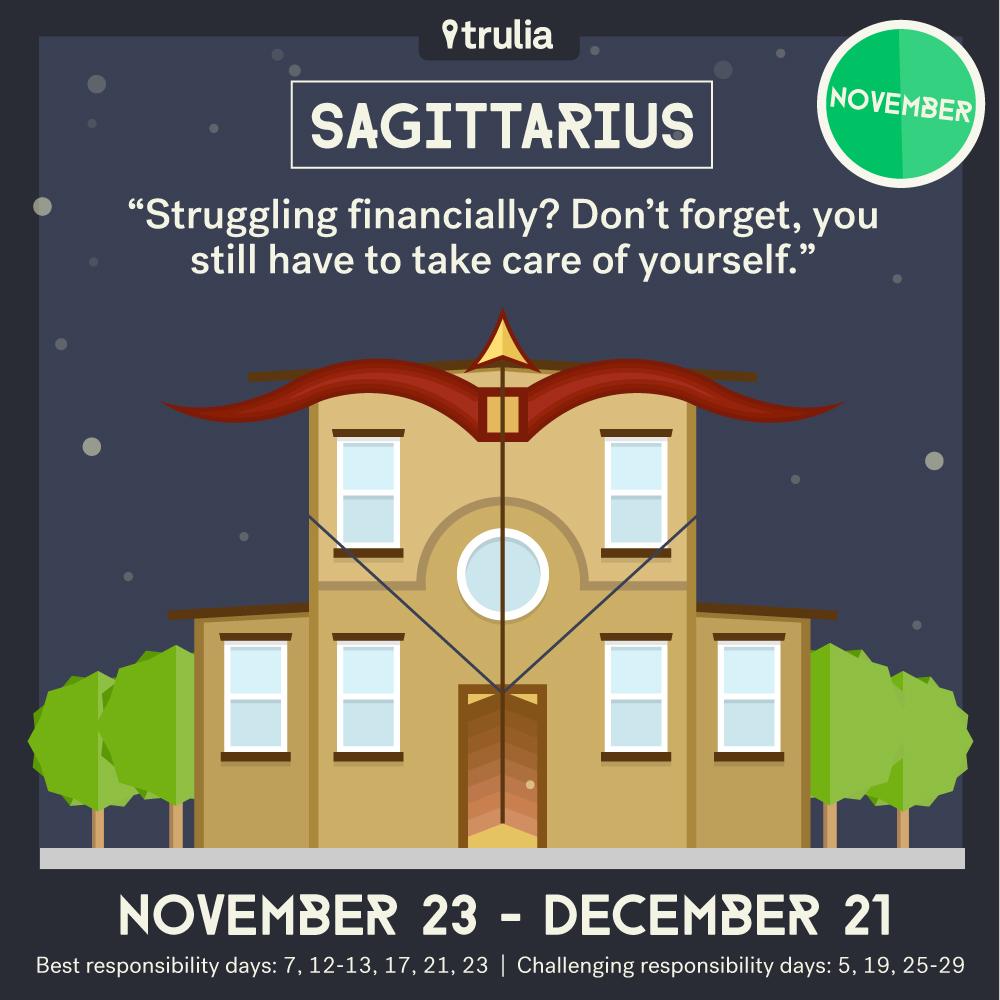 November Money Horoscope Sagittarius