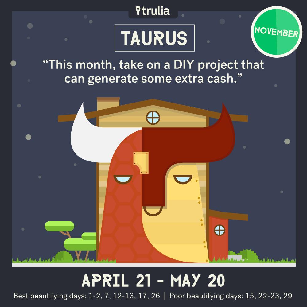 November Money Horoscope Taurus