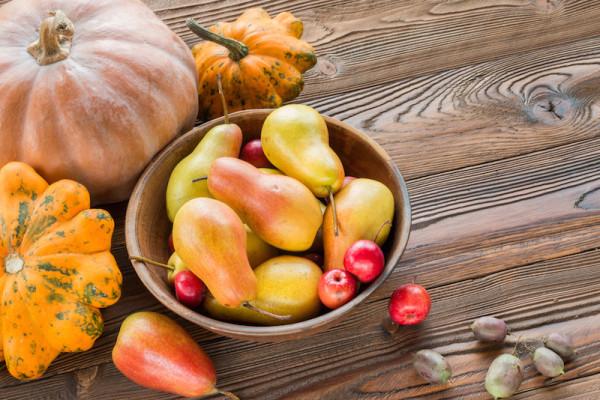 Fall Fruit Arrangement