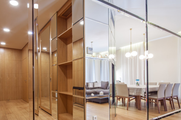 Mirrored Surfaces In Home