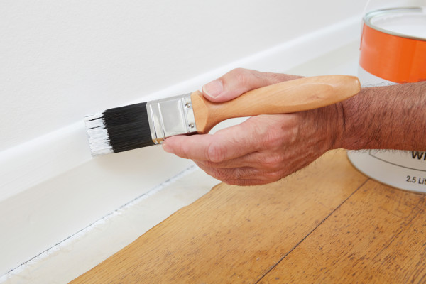 Painting Baseboard