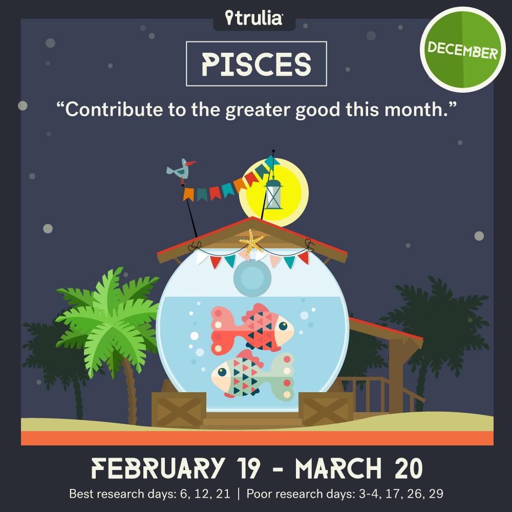 December money horoscope Pisces