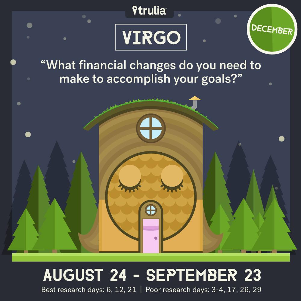 December money horoscope Virgo