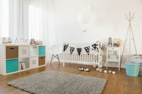 White Baby Room