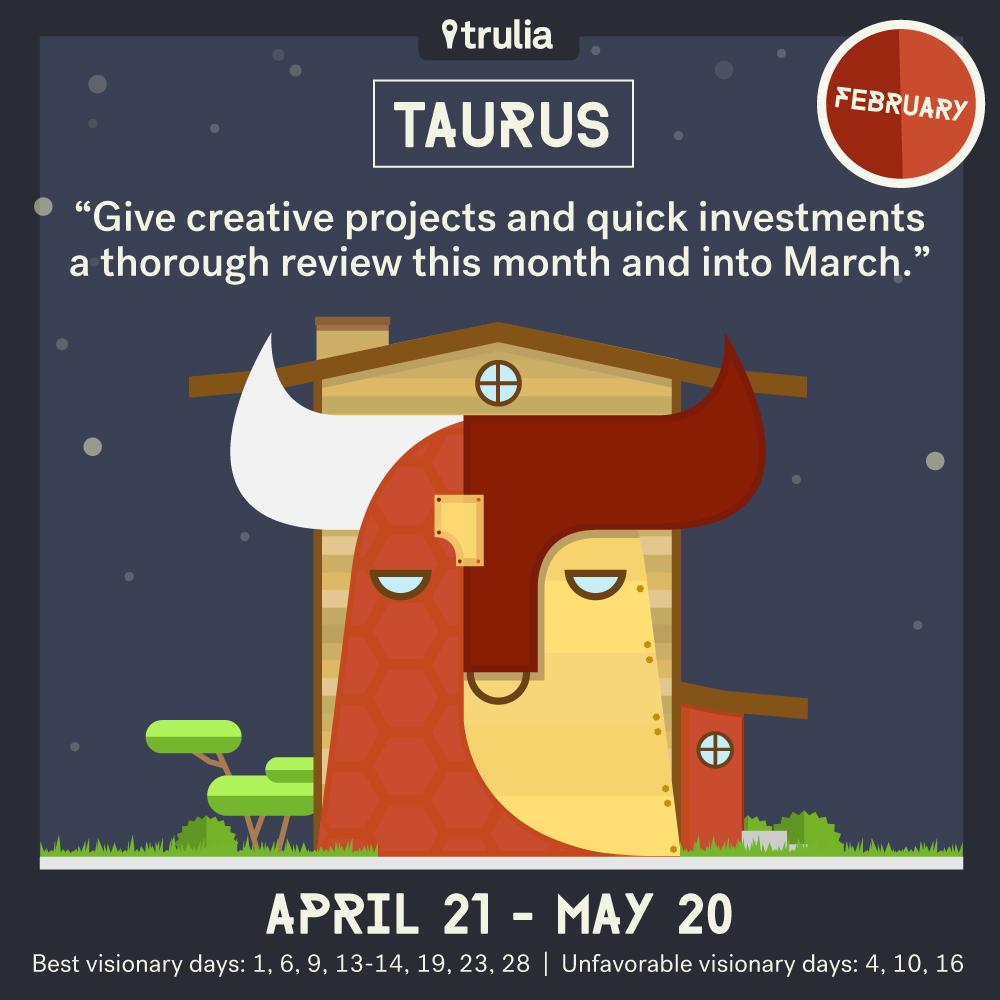 February Horoscope Taurus