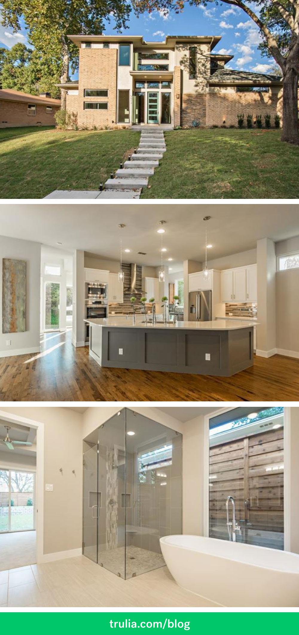Dallas TX Real Estate Pinterest Home