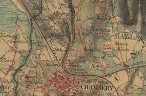 150 ans d'urbanisation autour de Chambéry : La plaine de la Leysse