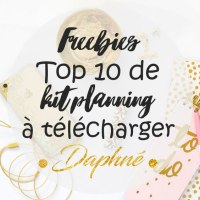 Top 10 de kit/planning à télécharger gratuitement