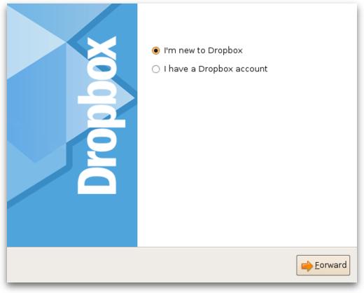 Setup Dropbox on Linux