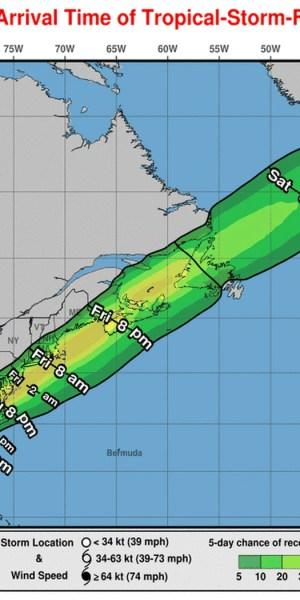 Tropical Storm Elsa - NJ impacts 7-8-21