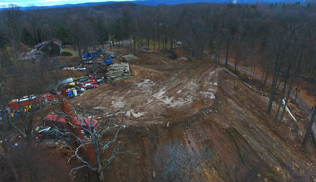 Neighbors Worried About This Massive Dirt Pile For Years Now Chemicals Linked To Cancer Have