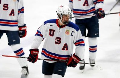 Image result for Cole Caufield (C/RW) US National U18 Team (USDP)