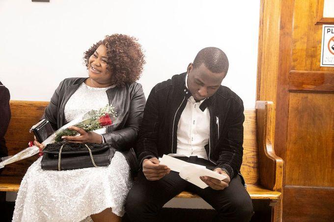 50 Couples Say I Do On Valentine S Day At Newark Municipal Court Photos Nj Com