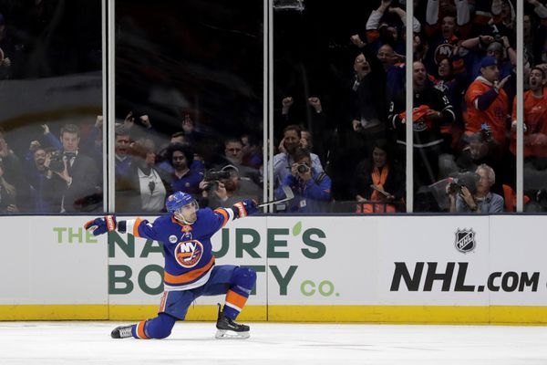 The New York Islanders host the Pittsburgh Penguins in game two of their 2019 Stanley Cup Playoffs first round series on Friday. (AP Photo | Julio Cortez)