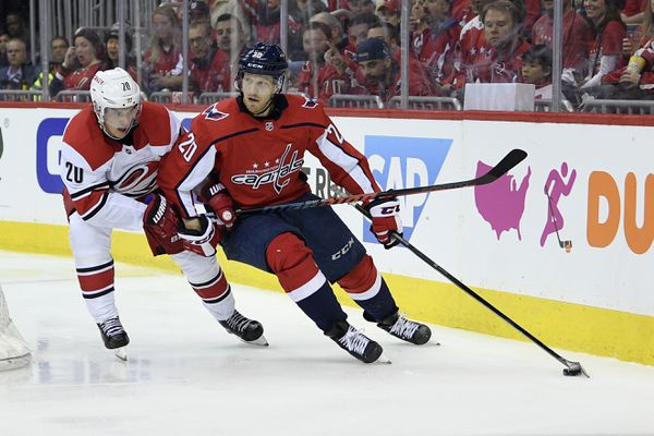 The Washington Capitals host the Carolina Hurricanes in game two of their 2019 Stanley Cup Playoffs first round series Saturday. (AP Photo | Nick Wass)