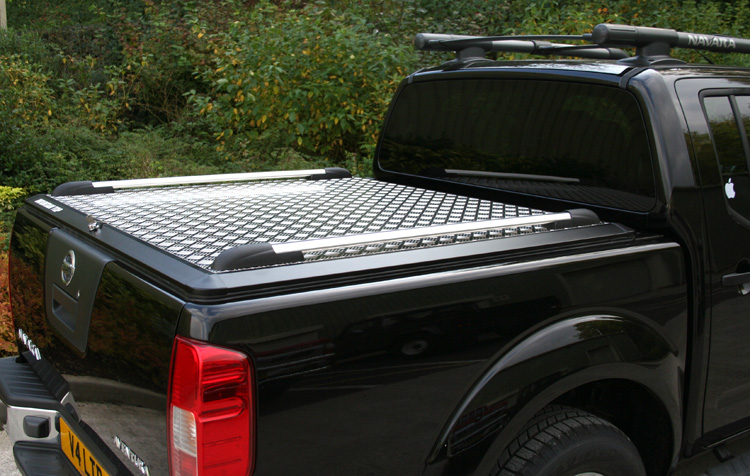 Aluminium Chequer Plate Mountain Top Tonneau Cover