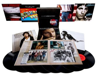 Bruce Springsteen is re-releasing his first seven albums as a boxed set.