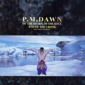 "The 1991 debut album by Jersey City's P.M. Dawn, ""Of the Heart, of the Soul and of the Cross: The Utopian Experience."""