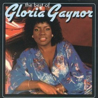 "The cover of the greatest-hits album, ""The Best of Gloria Gaynor."""